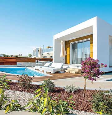 A modern villa in Paphos