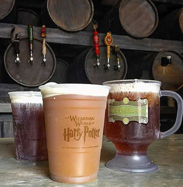 Butterbeer at the Leaky Cauldron, Wizarding World of Harry Potter™, Universal Orlando Resort™