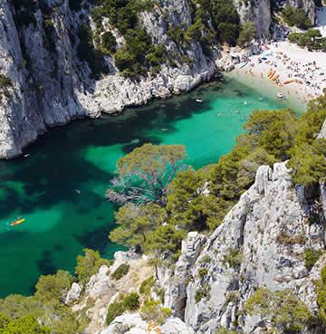 Calanque d'En Vau and its breathtaking natural beauty