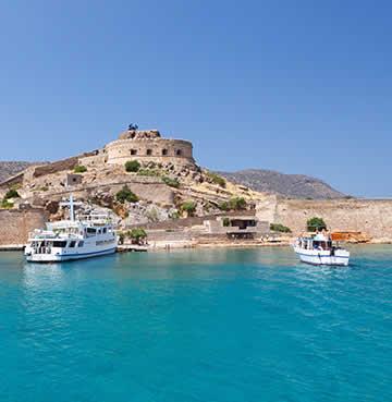 Historic treasures of Spinalonga Island, Crete