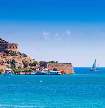 Mirabello Gulf and the island of Spinalonga