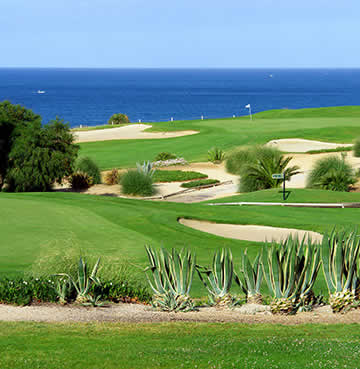 One of the Algarve's many prestigious golf courses, positioned on the cliffs for stunning sea views