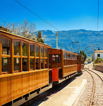 Take a ride on the Sóller Railway