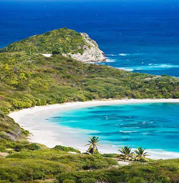 Half-moon bay, Antigua