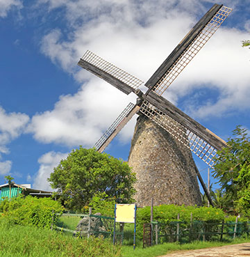 Morgan Lewis Sugar Mill in Barbados