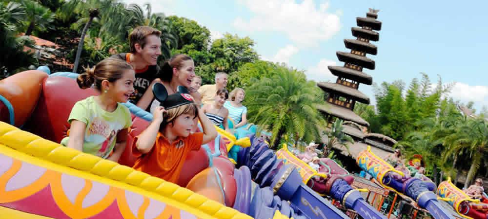 The Magic Carpets of Aladdin ride at Walt Disney World Resort