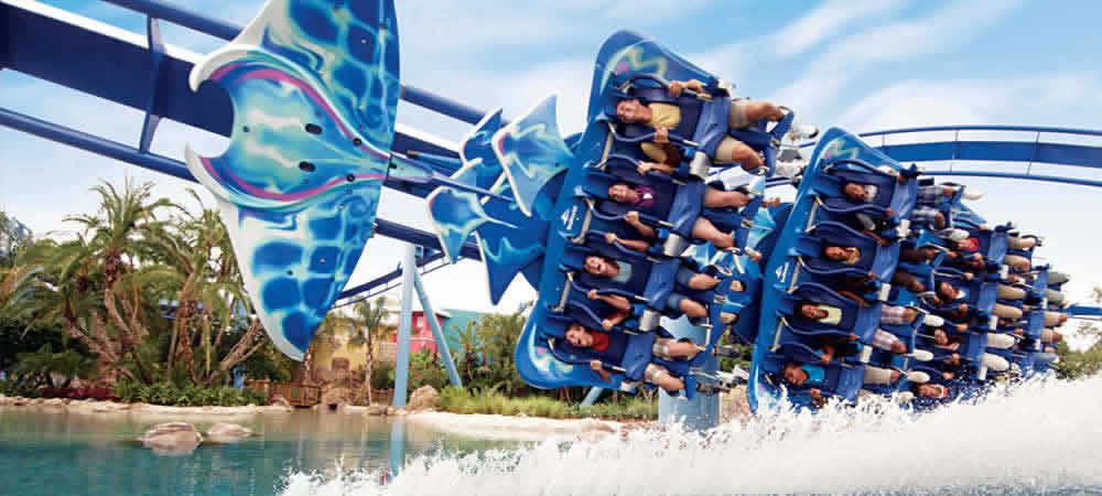 The Manta ride at SeaWorld Orlando