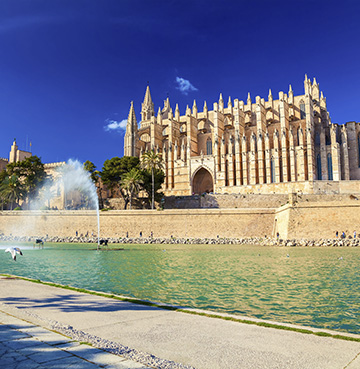 Gothic cathedral of Palma, Mallorca