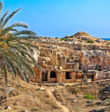 The Tombs of the Kings in Cyprus