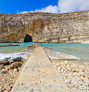 The iconic Dwejra Bay, Gozo