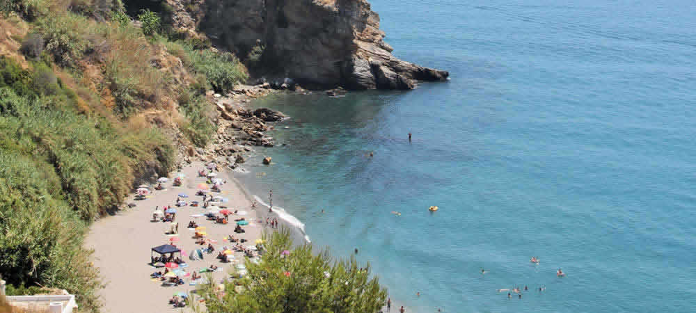 Playa de Maro beach