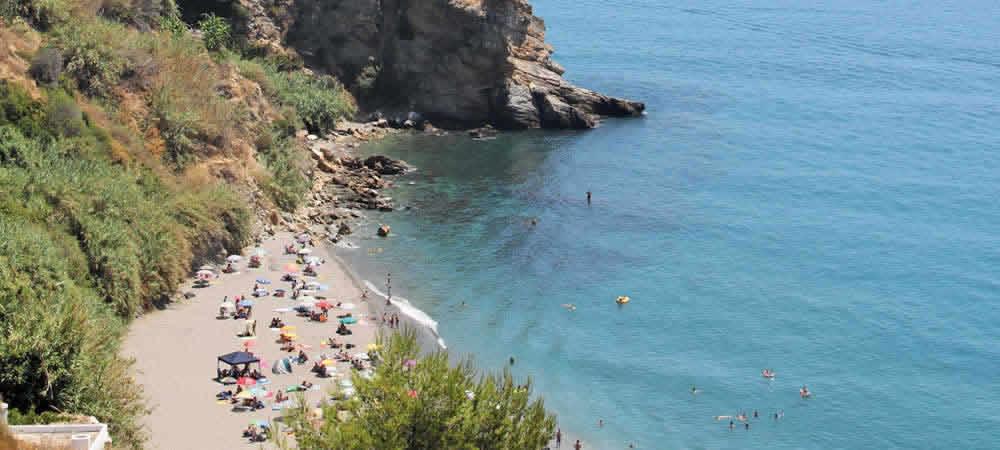 Playa de Maro beach