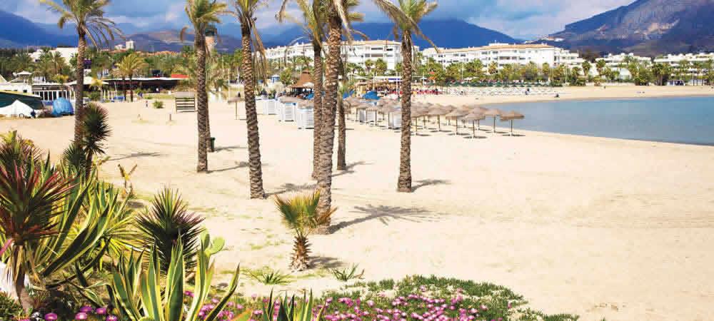 Playa Puerto Banus beach