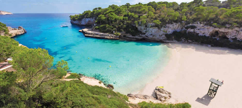 Cala Llombards beach