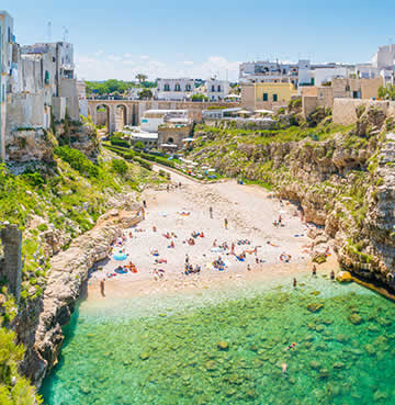 Picturesque Polignano a Mare, Puglia