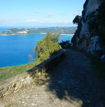 Hiking the Corfu Trail