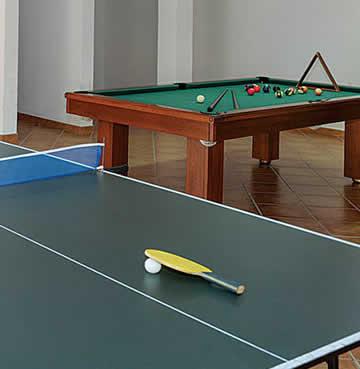 Games room in Villa Casa Jasmim in Estoi, Algarve