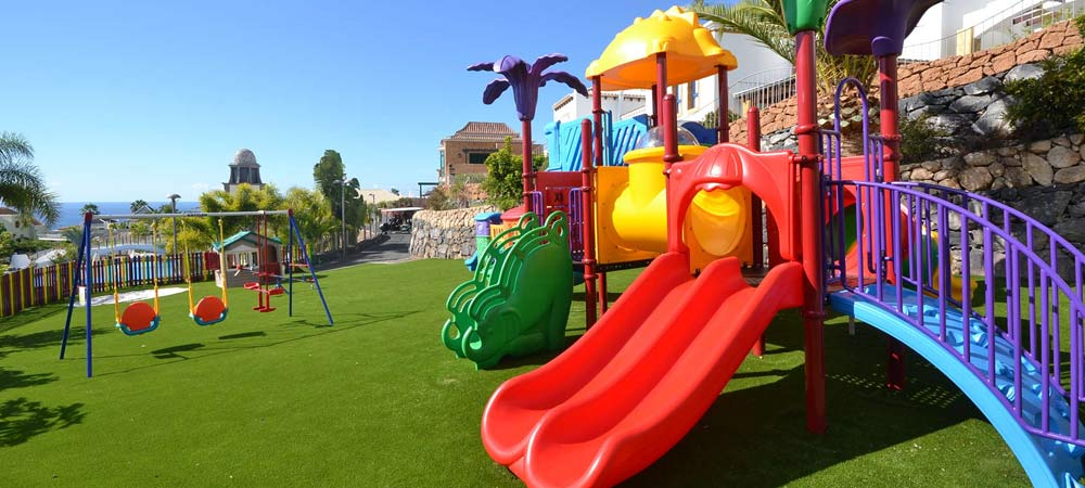 Children's play area in Hotel Suite Villa Maria, Tenerife