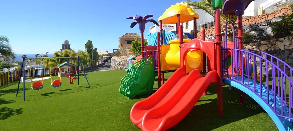 Children's play area in Hotel Suite Villa Maria, Tenerife