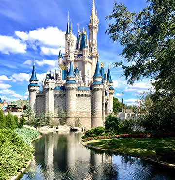 Cinderella's Castle at Magic Kingdom, Walt Disney World Resort, Florida