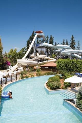 View of Fasouri Watermania in Cyprus