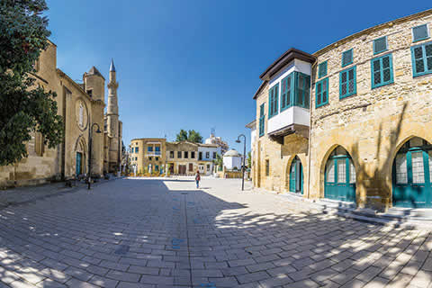 Traditional Streets of Nicosia, Cyprus