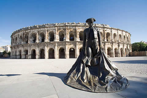 Arena of Nimes Ampitheatre, Provence France