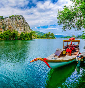 Riding down the River Dalyan