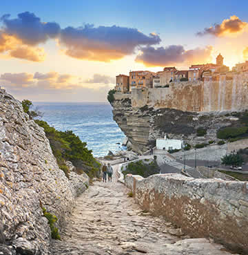 The Ile de Beaute, Corsica, France. This island has exploded onto the wine scene with its mix of Italian and French styles and vast variety of red and white wines.