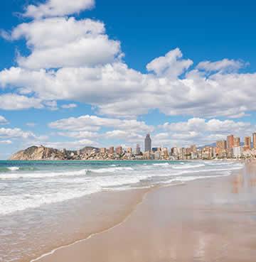 Levante Beach, Benidorm, Costa Blanca