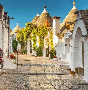UNESCO World Heritage town of Alberobello