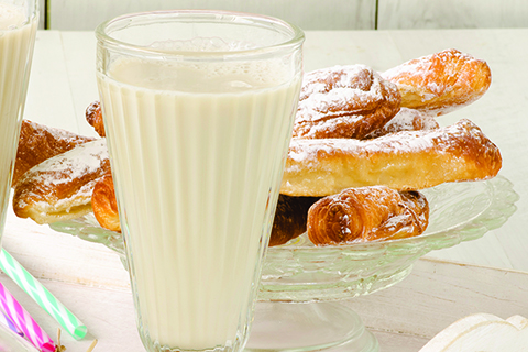 Spanish Horchata and pastries