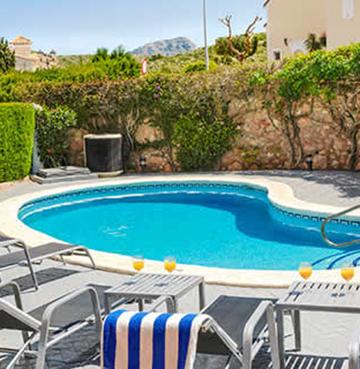 Villa Cypress Pool Shot