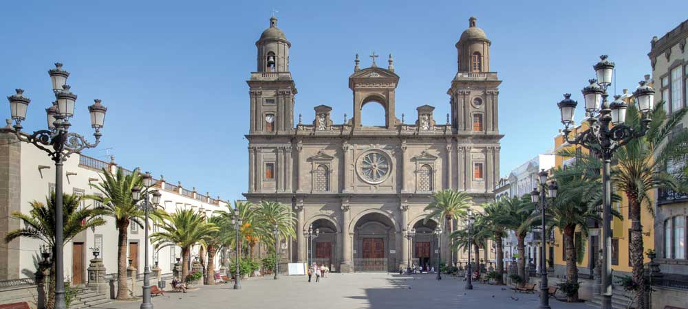 The Cathedral of Santa Ana in Las Palmas, Gran Canaria