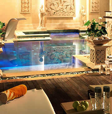 Spa facilities and indoor pool in a Holiday Resort, Tenerife