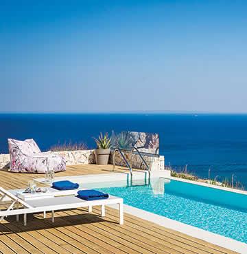 Villa with private infinity pool in Skala, Kefalonia