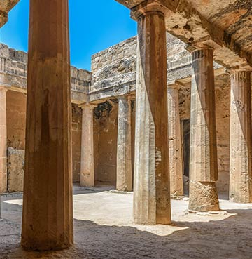 Exploring the UNESCO Tomb of the Kings in Paphos