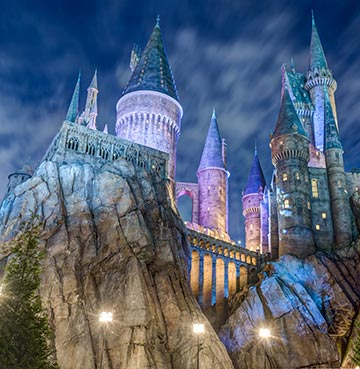 Hogwarts Castle at the Wizarding World of Harry Potter, Universal Islands of Adventure, Orlando