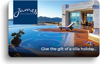 James Villa Holidays gift voucher