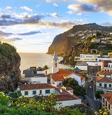 Camara de Lobos in Madeira