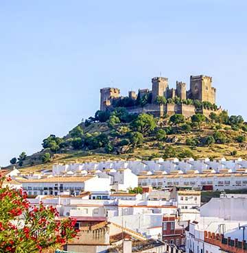 Almodovar Castle in Andalucia