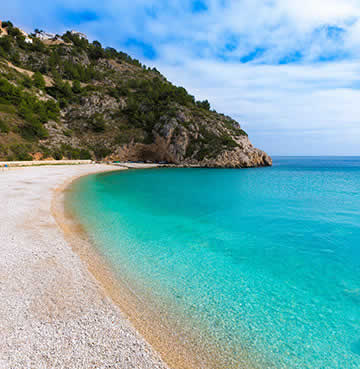 The Beauty of Playa La Granadella in Costa Blanca
