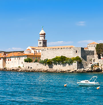 Krk Old Town, Croatia