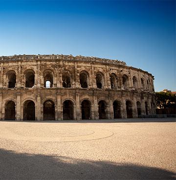 Nîmes Roman amphitheatre, South of France