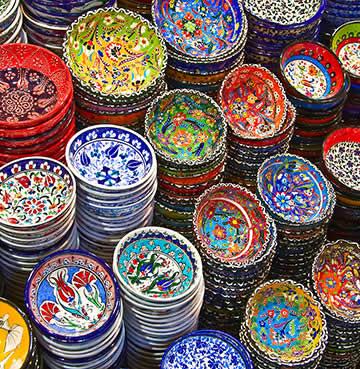 Ceramics at a Turkish Market