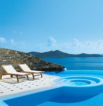 View of Imperial Spa Villas in Elounda