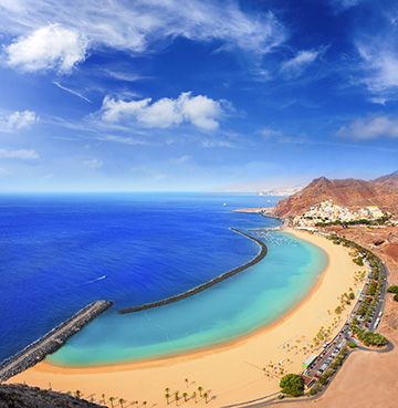 View of Las Teresitas Beach, Tenerife