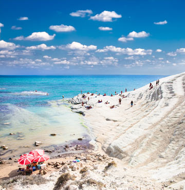 Scala dei Turchi, one of Sicily's most iconic coastlines
