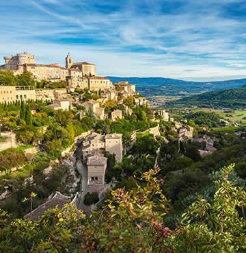 Provençal hilltop village