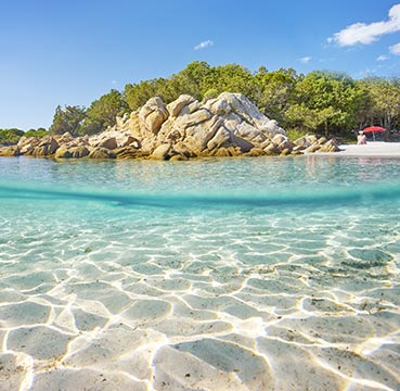 The perfect crystalline waters of The Emerald Coast